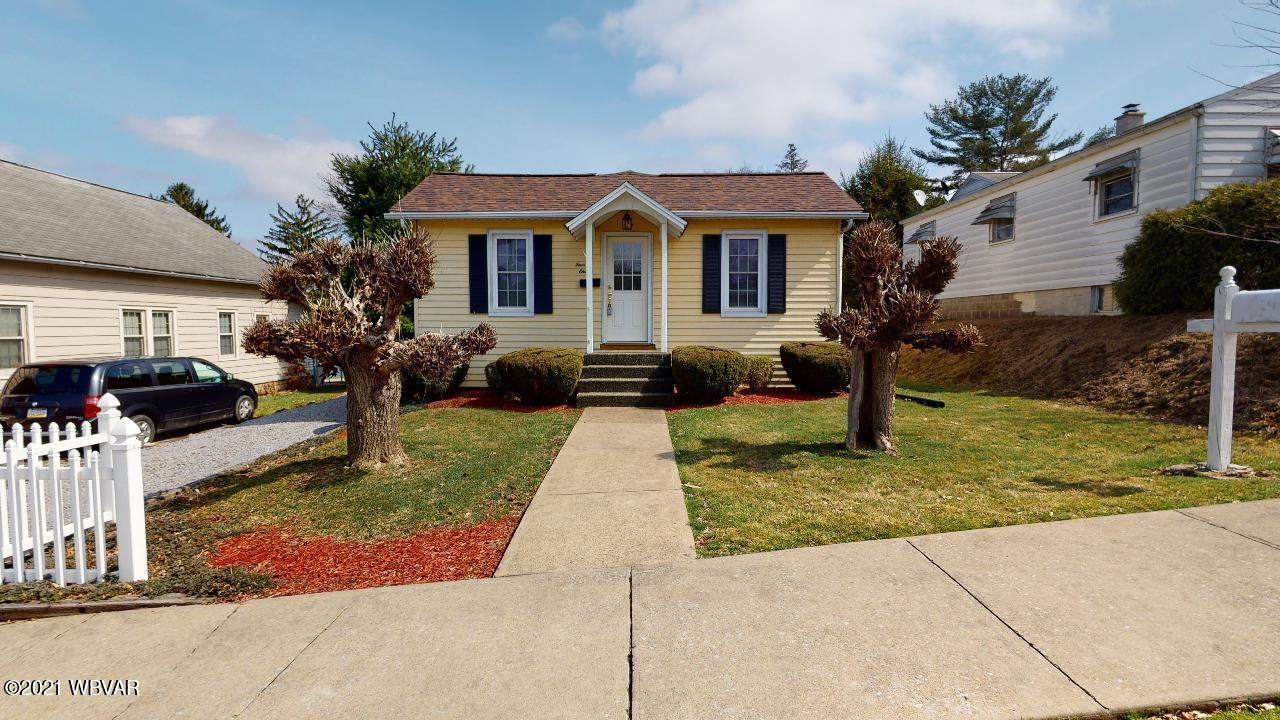 411 KANE STREET, S. Williamsport, PA 17702, 2 Bedrooms Bedrooms, ,1 BathroomBathrooms,Residential,For sale,KANE,WB-92150