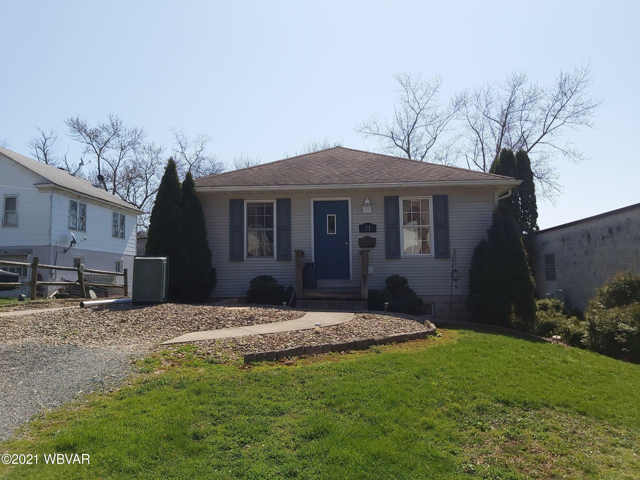 21 HOUSTON AVENUE, Montgomery, PA 17752, 3 Bedrooms Bedrooms, ,1 BathroomBathrooms,Residential,For sale,HOUSTON,WB-92236