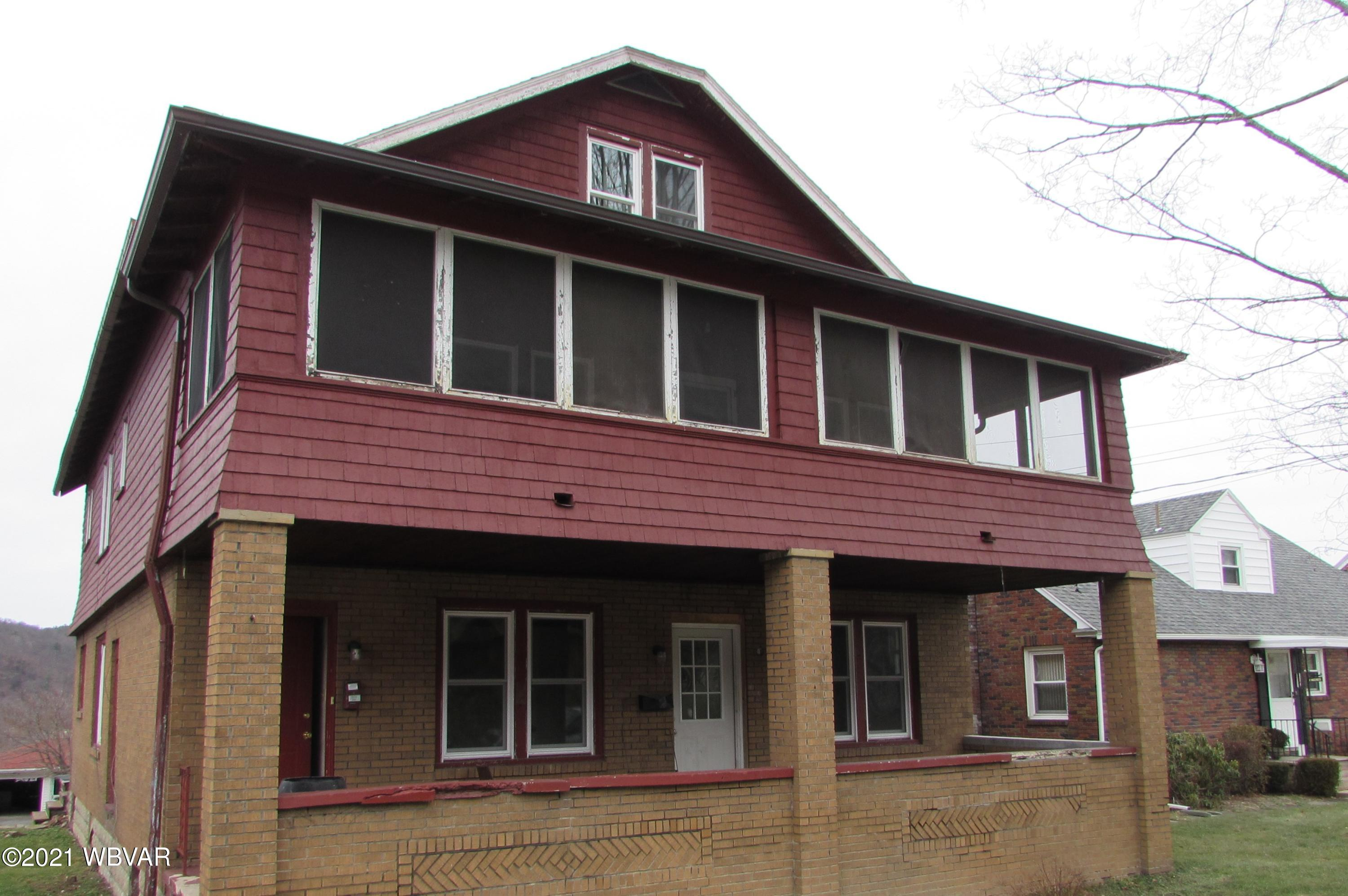 248-250 SUSQUEHANNA AVENUE, Lock Haven, PA 17745, ,Multi-units,For sale,SUSQUEHANNA,WB-92234