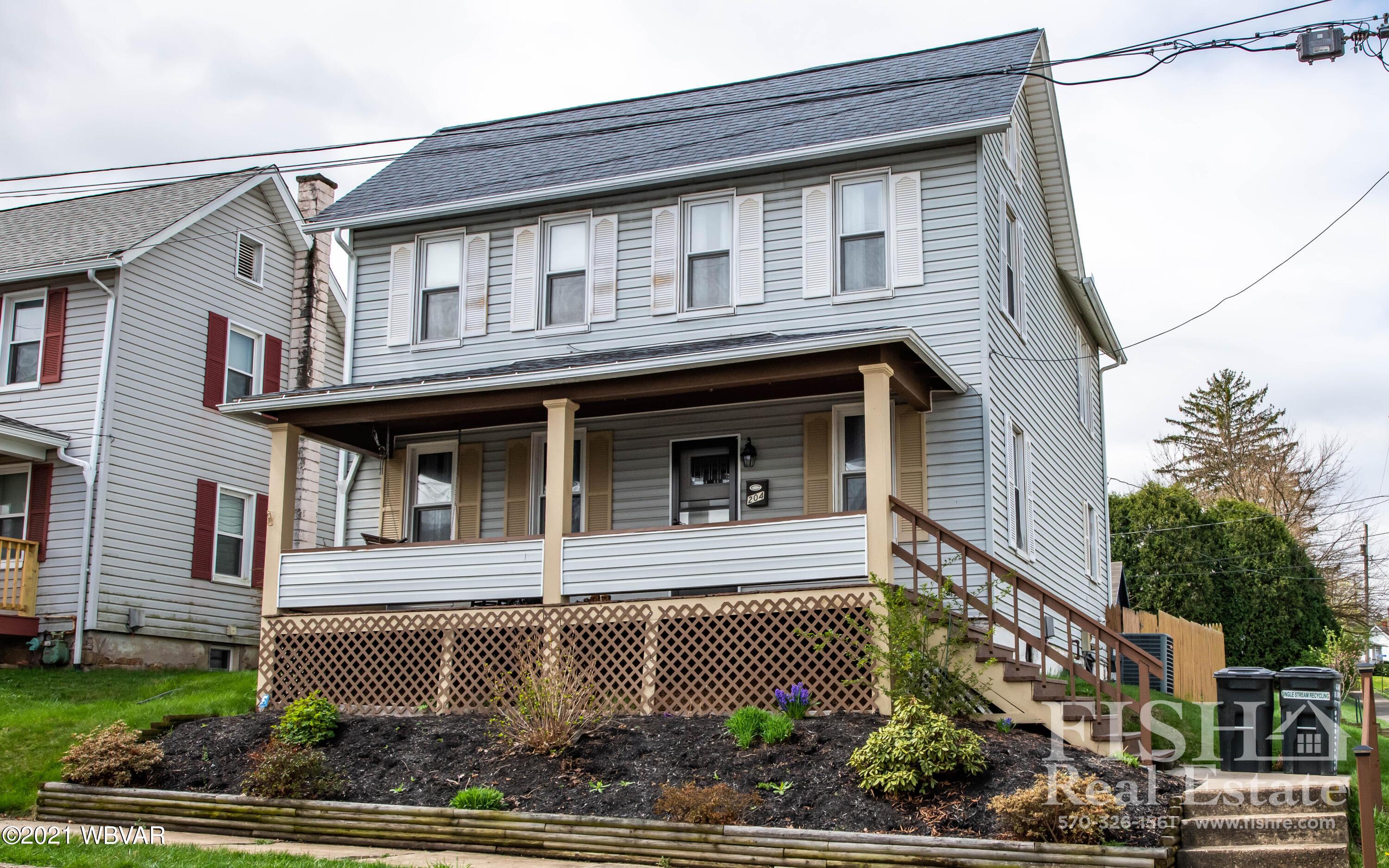 204 BEECH STREET, S. Williamsport, PA 17702, 4 Bedrooms Bedrooms, ,2 BathroomsBathrooms,Residential,For sale,BEECH,WB-92330