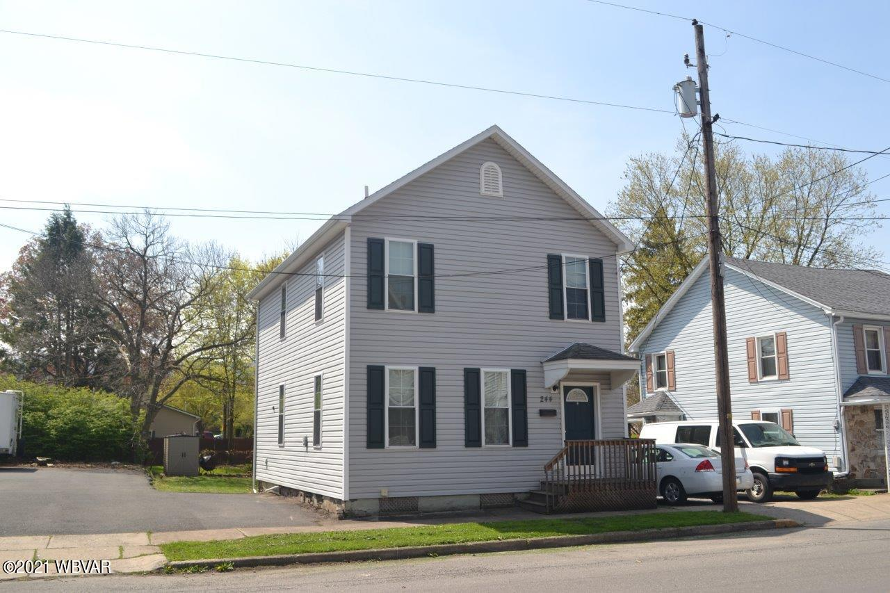 244 HUGHES STREET, Williamsport, PA 17701, 3 Bedrooms Bedrooms, ,1.5 BathroomsBathrooms,Residential,For sale,HUGHES,WB-92420