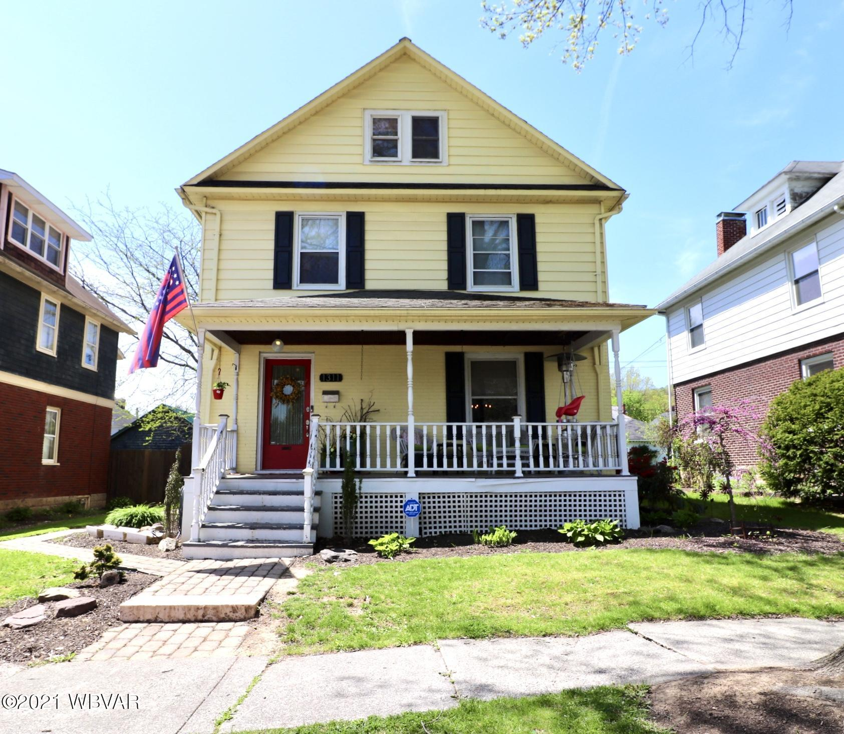 1311 CHERRY STREET, Williamsport, PA 17701, 5 Bedrooms Bedrooms, ,3 BathroomsBathrooms,Residential,For sale,CHERRY,WB-92440