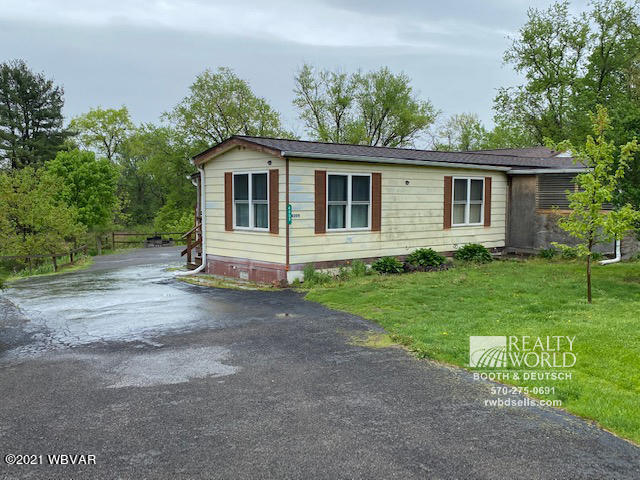 4009 RIVER ROAD, Watsontown, PA 17777, 2 Bedrooms Bedrooms, ,1 BathroomBathrooms,Residential,For sale,RIVER,WB-92456