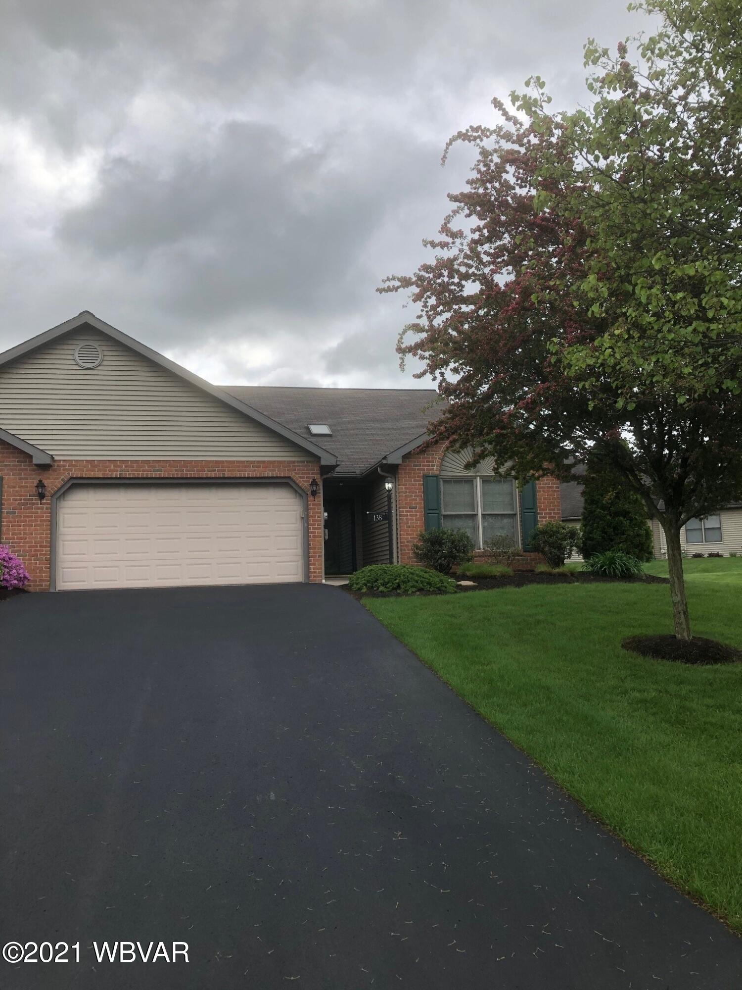 138 WOODSEDGE DRIVE, Milton, PA 17847, 2 Bedrooms Bedrooms, ,2 BathroomsBathrooms,Residential,For sale,WOODSEDGE,WB-92492