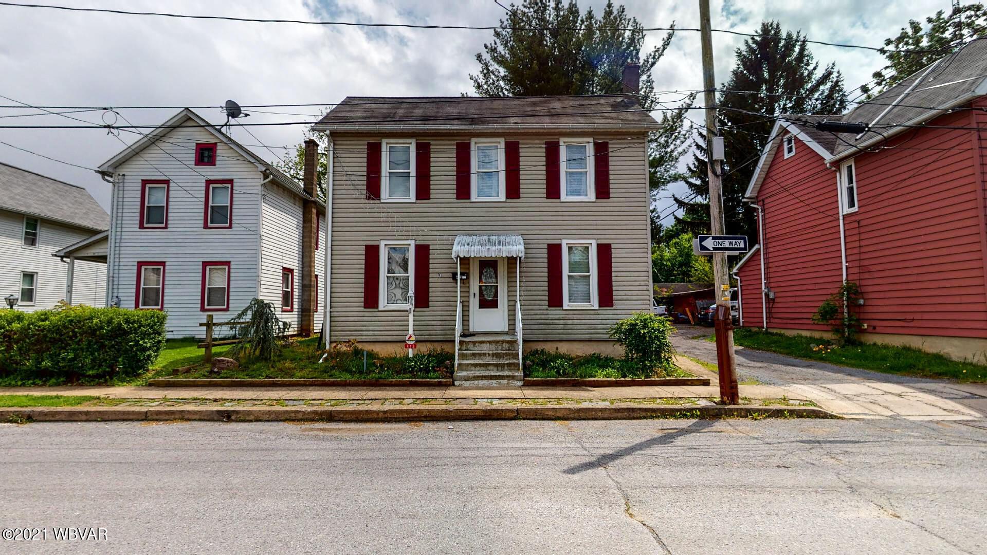 412 GERMANIA STREET, Williamsport, PA 17701, 4 Bedrooms Bedrooms, ,1 BathroomBathrooms,Residential,For sale,GERMANIA,WB-92500