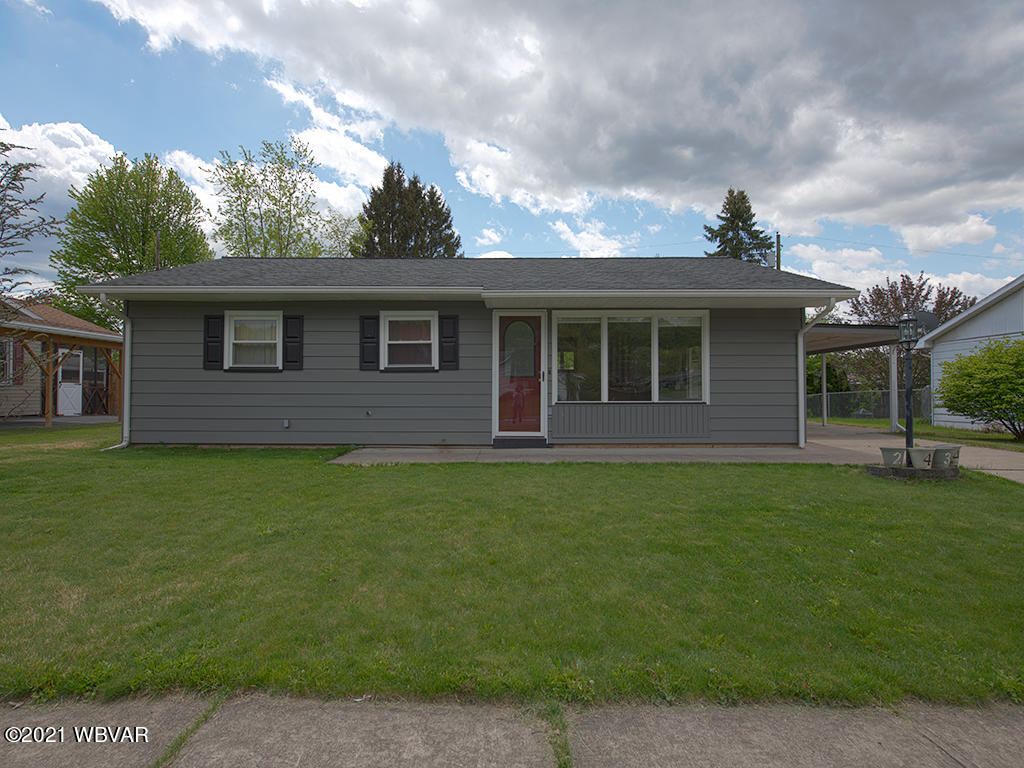 2434 RITCHEY STREET, Williamsport, PA 17701, 3 Bedrooms Bedrooms, ,1 BathroomBathrooms,Residential,For sale,RITCHEY,WB-92514