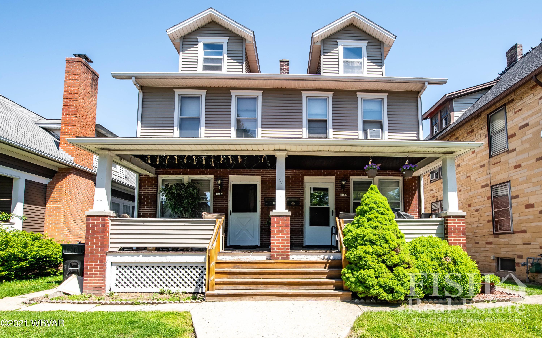 1412-1414 PARK AVENUE, Williamsport, PA 17701, ,Multi-units,For sale,PARK,WB-92534