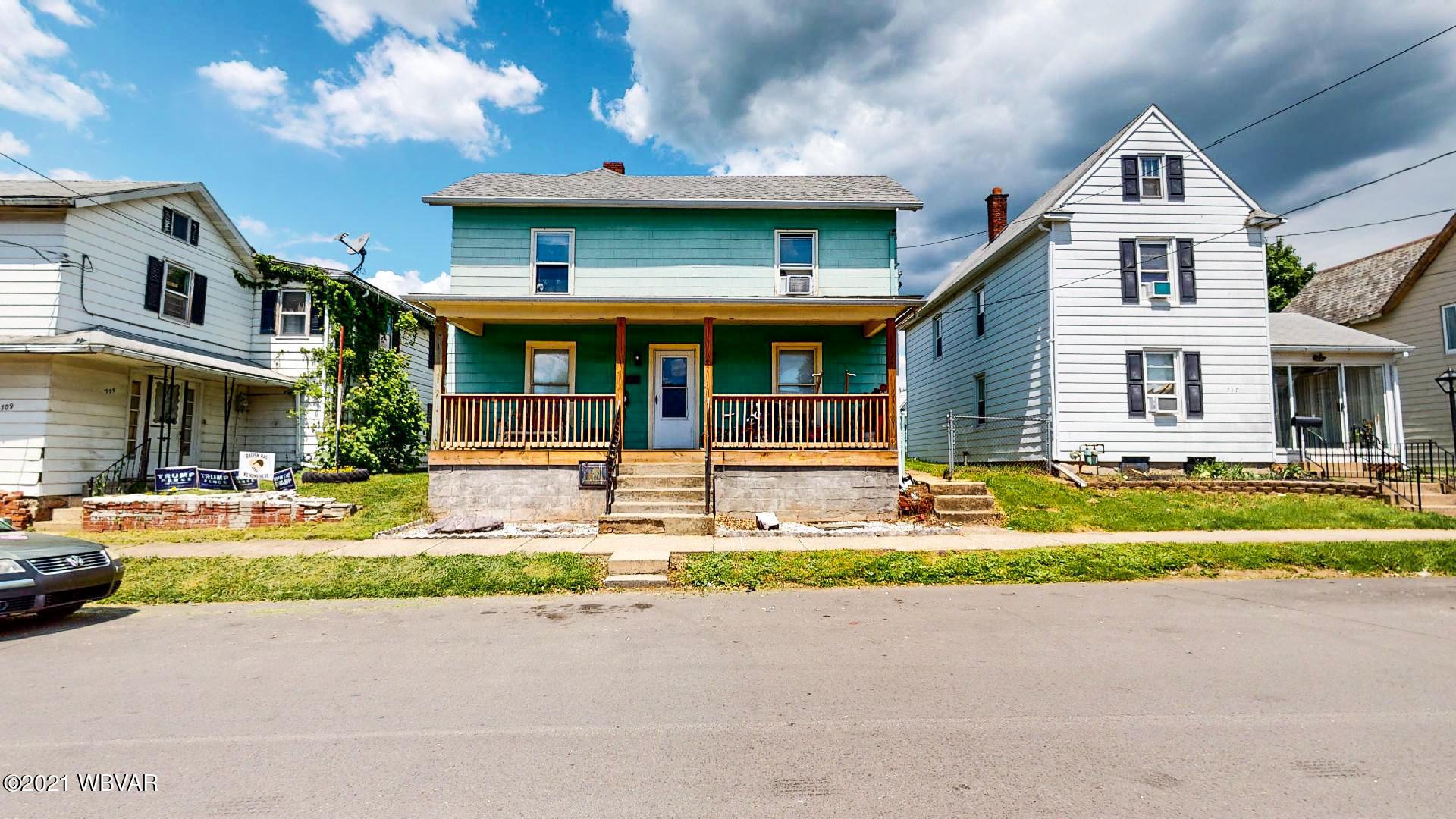 713 TUCKER STREET, Williamsport, PA 17701, 3 Bedrooms Bedrooms, ,1 BathroomBathrooms,Residential,For sale,TUCKER,WB-92533