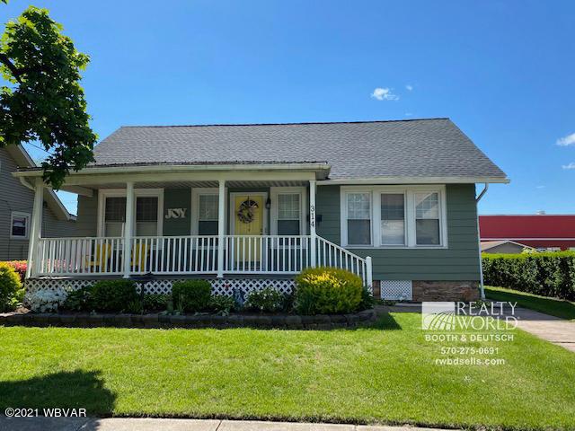314 PENN STREET, Muncy, PA 17756, 2 Bedrooms Bedrooms, ,1.5 BathroomsBathrooms,Residential,For sale,PENN,WB-92506