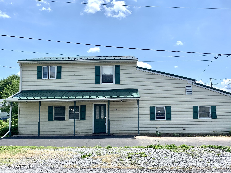 26 DELAWARE AVENUE, Jersey Shore, PA 17740, 3 Bedrooms Bedrooms, ,2 BathroomsBathrooms,Residential,For sale,DELAWARE,WB-92750