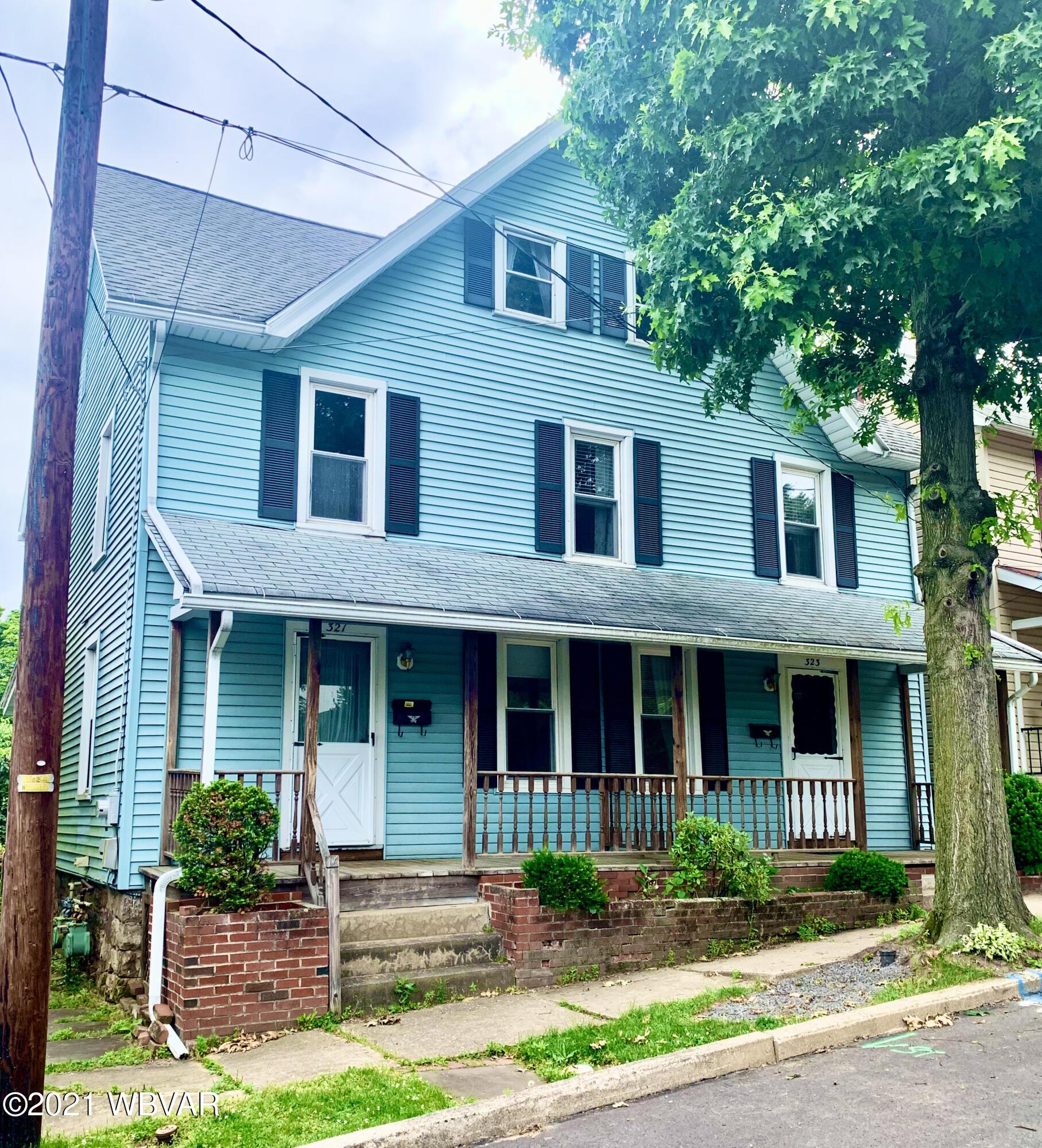 321 MEADOW STREET, S. Williamsport, PA 17702, 2 Bedrooms Bedrooms, ,1 BathroomBathrooms,Resid-lease/rental,For sale,MEADOW,WB-92751