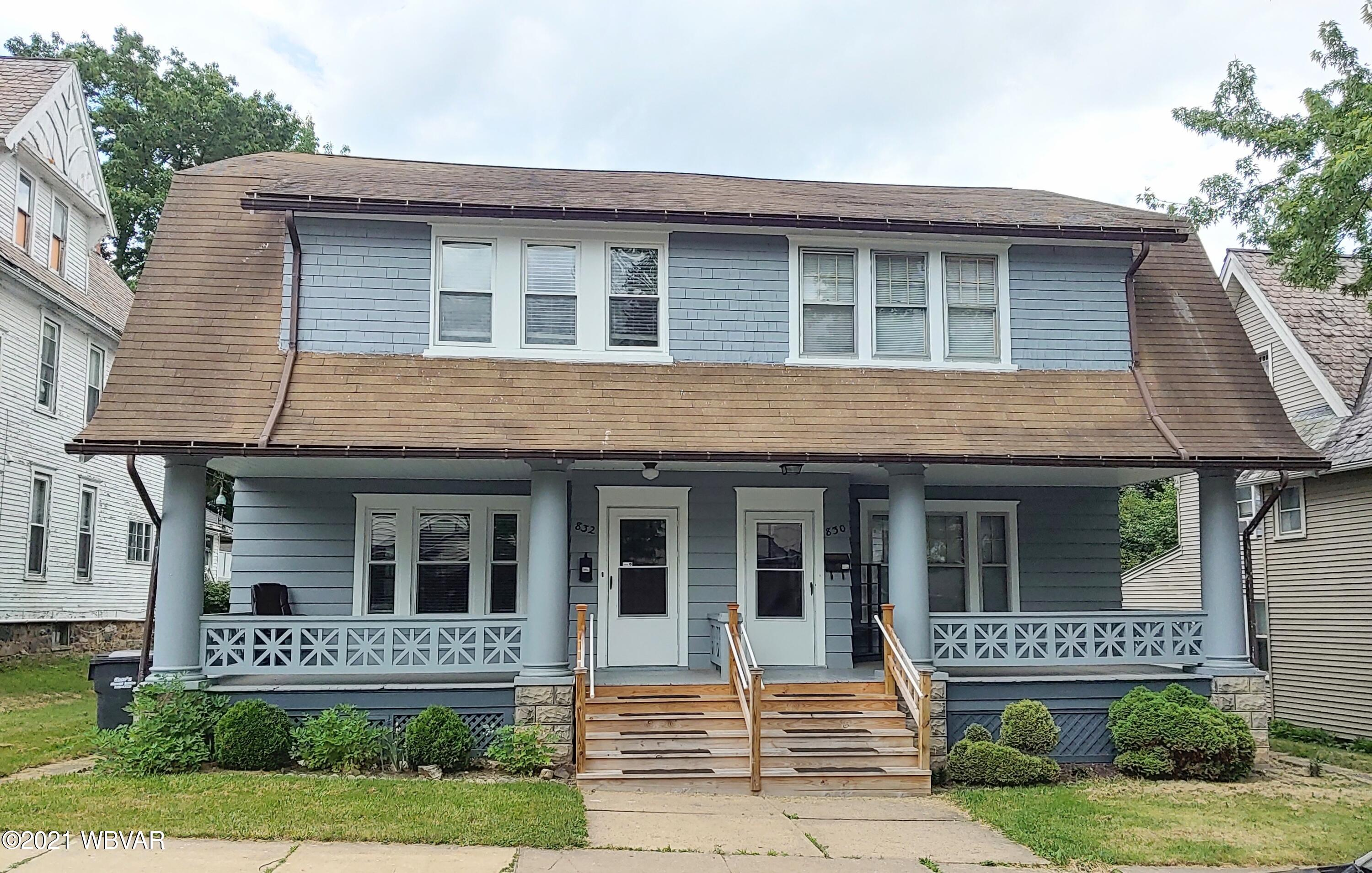 832 THIRD AVENUE, Williamsport, PA 17701, 3 Bedrooms Bedrooms, ,1 BathroomBathrooms,Resid-lease/rental,For sale,THIRD,WB-92770
