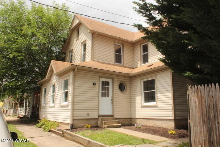 829 TUCKER STREET, Williamsport, PA 17701, 4 Bedrooms Bedrooms, ,1 BathroomBathrooms,Residential,For sale,TUCKER,WB-92802