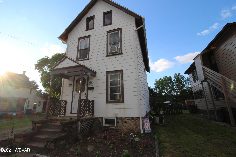 905 SHERIDAN STREET, Williamsport, PA 17701, 2 Bedrooms Bedrooms, ,1 BathroomBathrooms,Residential,For sale,SHERIDAN,WB-92786