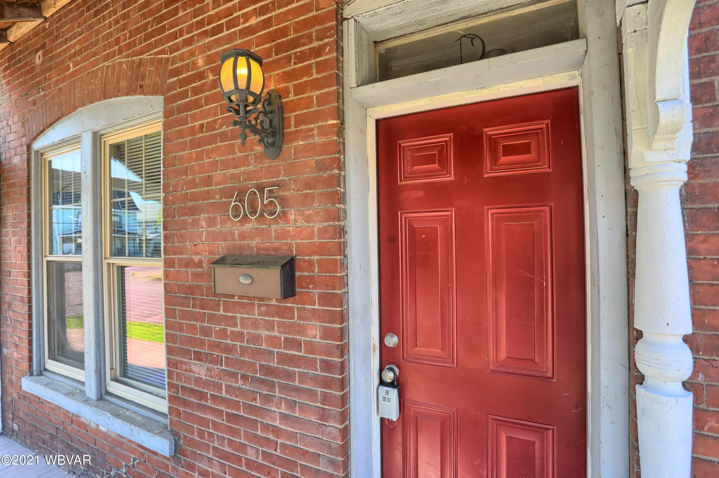 605 GRACE STREET, Williamsport, PA 17701, 2 Bedrooms Bedrooms, ,2 BathroomsBathrooms,Residential,For sale,GRACE,WB-92792