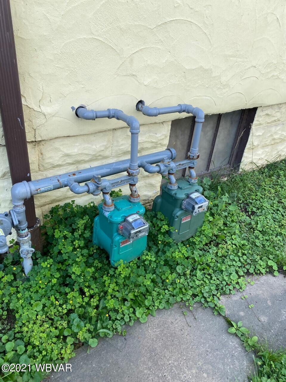 Seperate Gas Meters