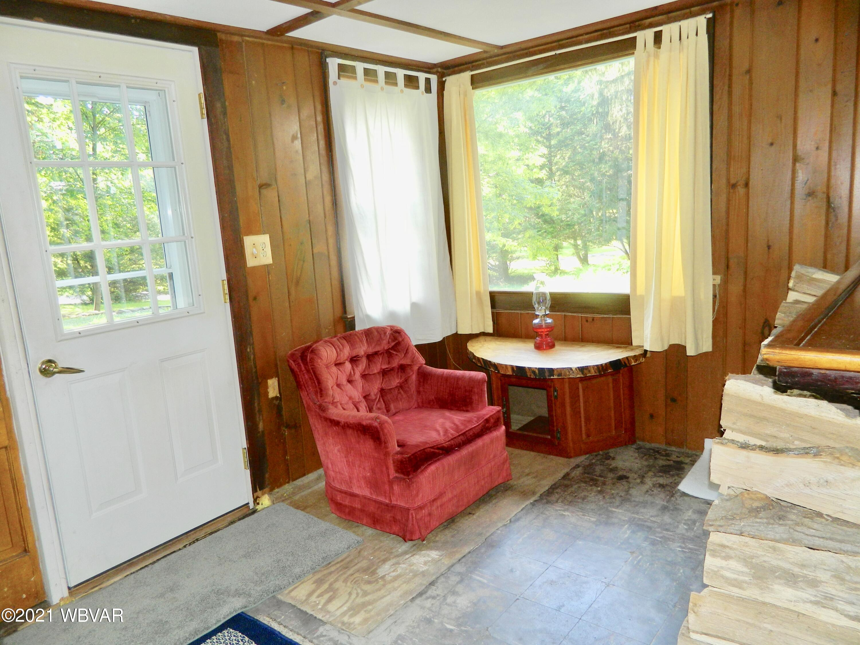 Outside Entry into Family Room