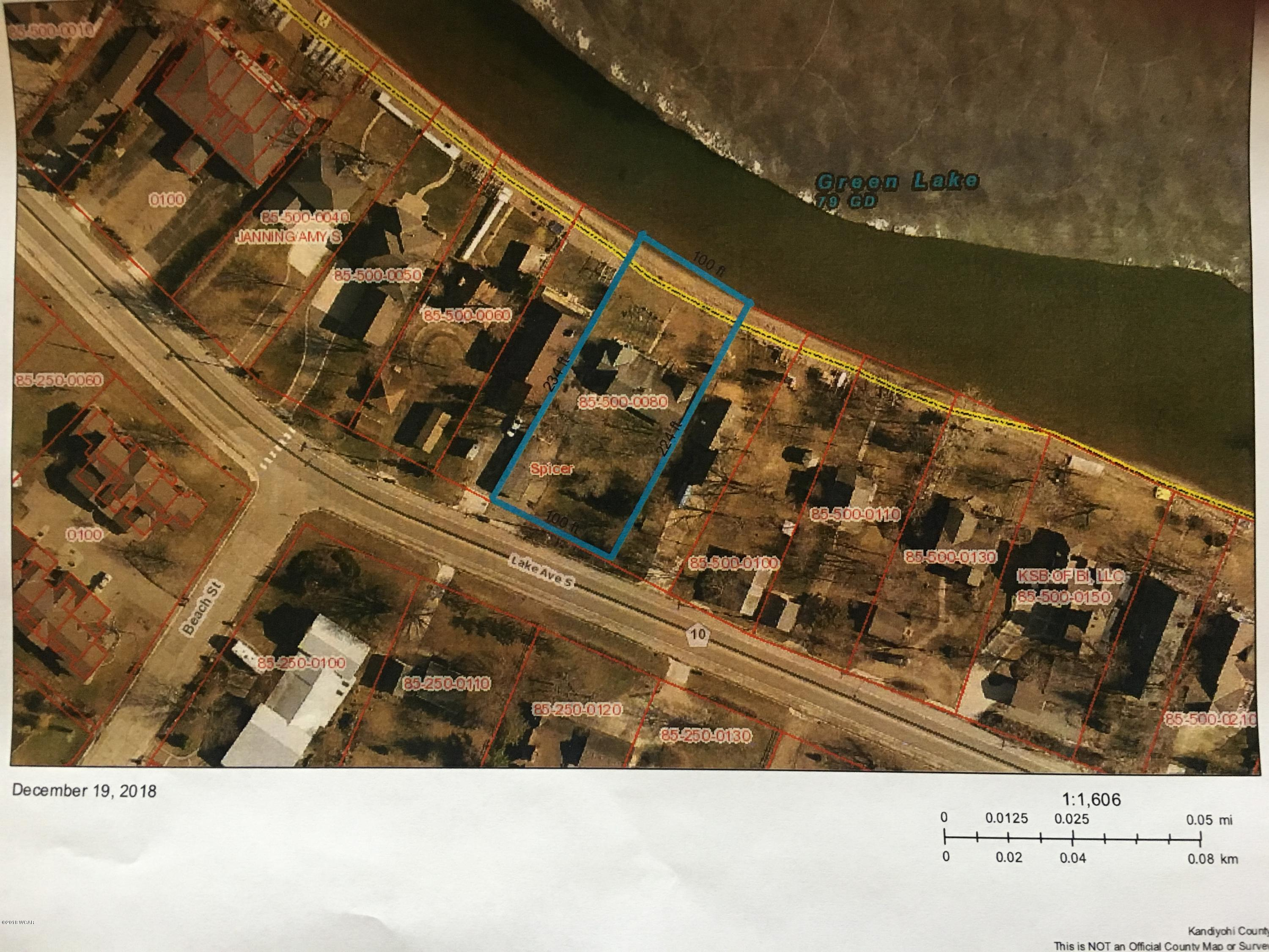 187 Lake Ave South Avenue,Spicer,Residential Land,Lake Ave South Avenue,6033131