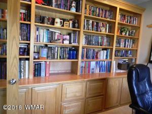 Den bookcase