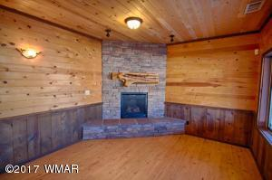 Fireplace in Office Building