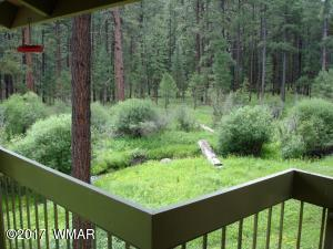 Upper House Deck View of Creek