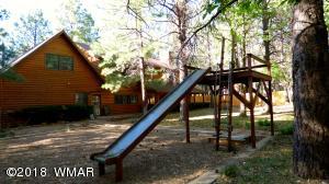 Playground Area Slide in Focus