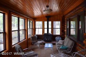 Cabin Sunroom