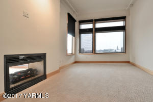 5 Large Bedroom with See Through Firepla