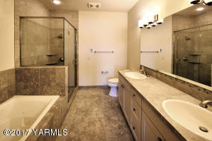 5 Natural Stone Finishes in Master Bath
