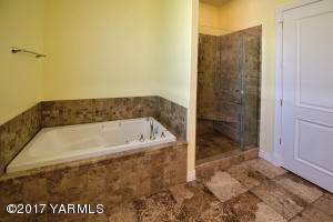 17 Tiled Master Bath and Shower