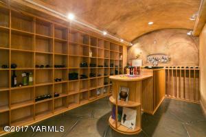 Lower Level Wine Room