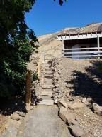 stairway to barn and arena
