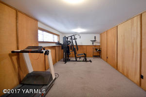 Lower Level Workout Area