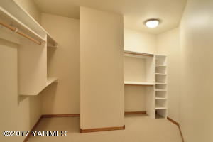 9 One of Two Master Walk-in Closets