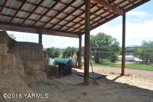 Covered Hay Storage