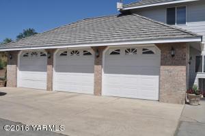 3-car attached garage