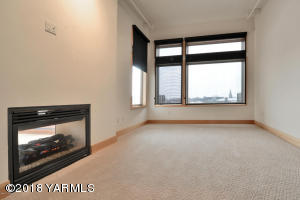 5-Large Bedroom with See Through Firepla