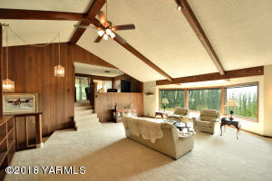 Vaulted Ceilings and View of Upper Room