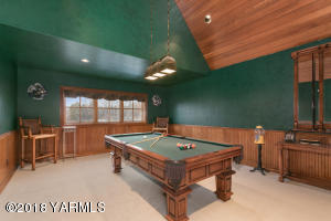 Upper Level Billiards Room