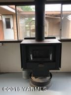 wood stove for breezeway