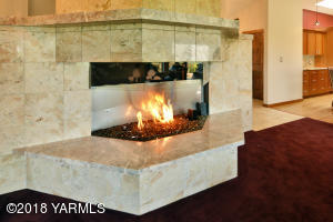 5a Contemporary Gas Fireplace