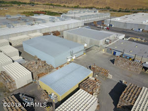 Aerial - cold storage and warehouse (1)