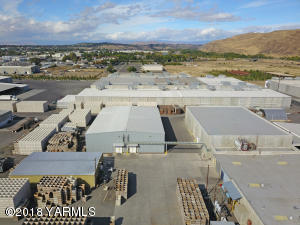 Aerial - cold storage and warehouse