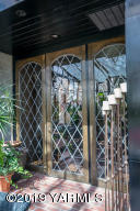 15_Leaded Glass Entry Through Atrium