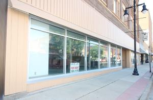 Approx 43' store front