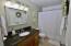 Granite Counter, Tile Tub Surround, Large Closet