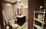 Tiled Shower, Granite Vanity Top