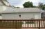 deck/garage view