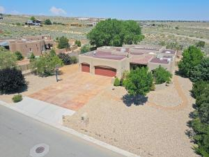 Aerial View of Front of Home -1/2 acre lot