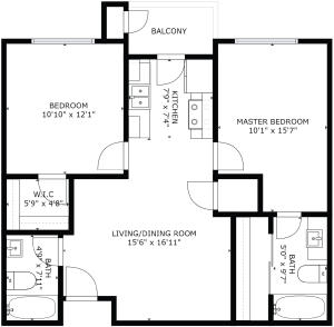 Floorplan-4322FourthNW-Unit22